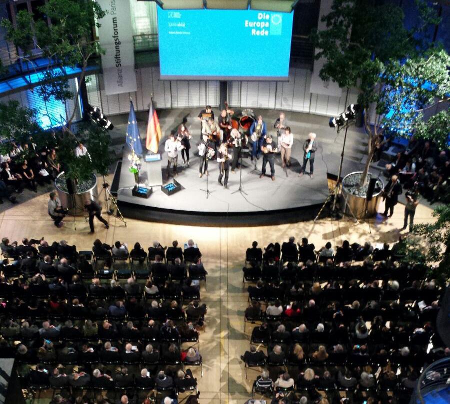La Fundación participa en Berlín en la conferencia 'Europa. Sus valores, sus ciudadanos' exponiendo los proyectos que se impulsan desde la región como ejemplos exitosos de desarrollo e integración