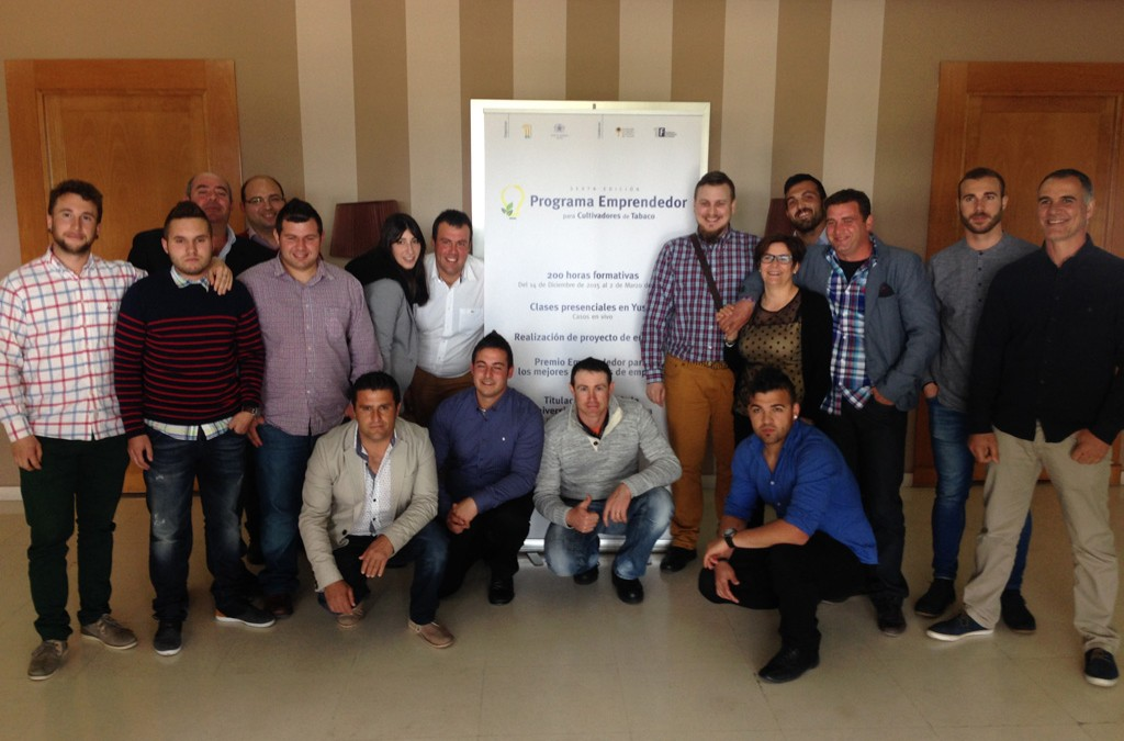 The UEx and Philip Morris reward the entrepreneurial spirit of the tobacco  growers of Extremadura