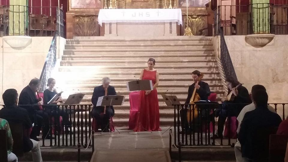 The European Academy of Yuste Foundation gives a concert to commemorate the V centenary of Carlos I's arrival in Spain and his death at Yuste on 21 September 1558