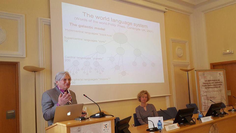 Colaboramos con el VII Seminario de Traducción Jurídica para Organizaciones Internacionales que pretende  actualizar conocimientos y compartir experiencia entre docentes, investigadores, traductores e intérpretes