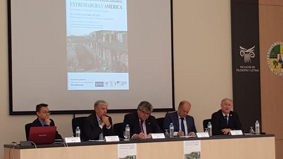 Young Americanist researchers gather in Cáceres to present their new lines of research