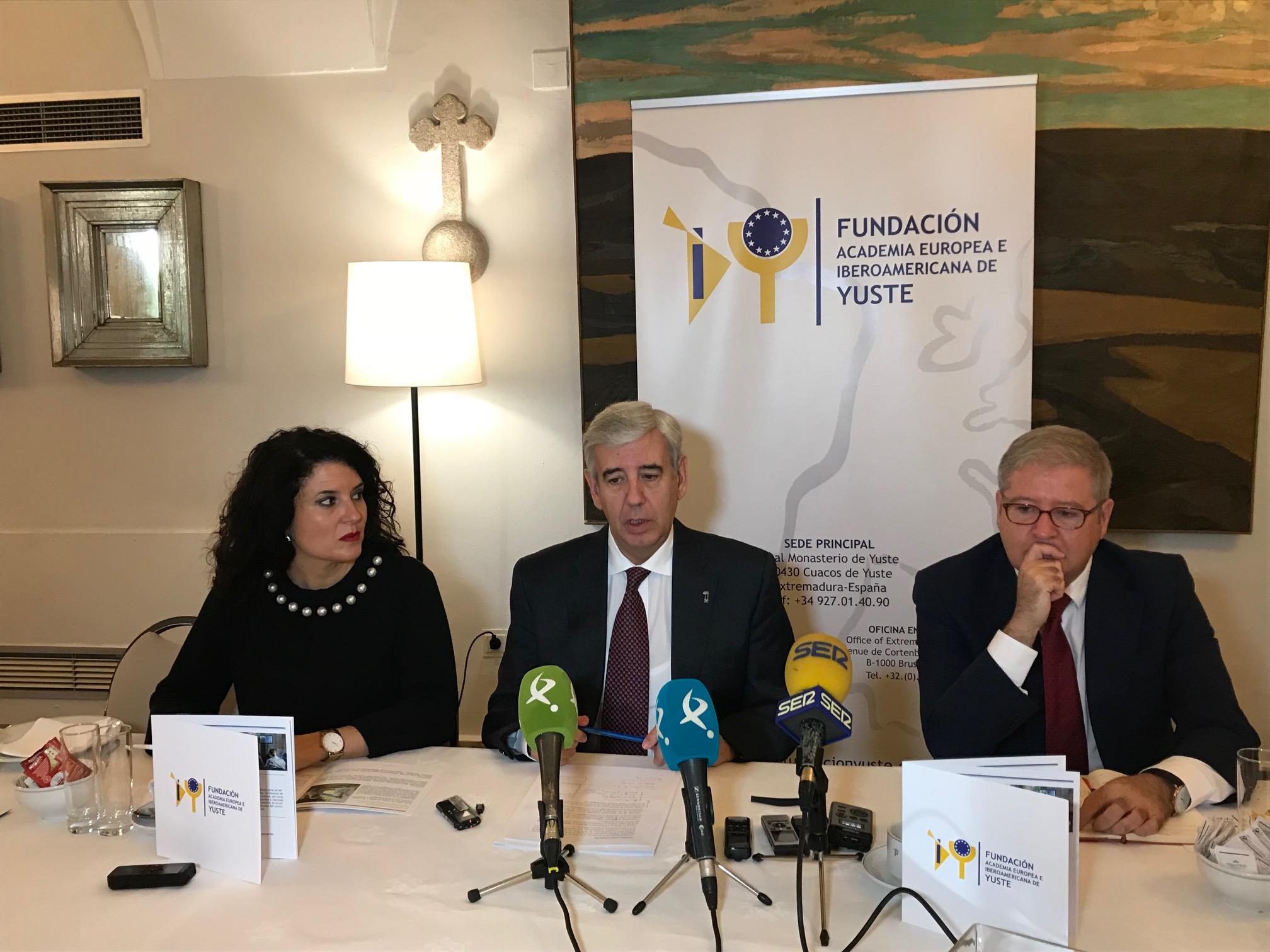 La Fundación Academia Europea e Iberoamericana de Yuste contribuirá al impulso y la consolidación de los vínculos existentes entre Extremadura, Europa e Iberoamérica