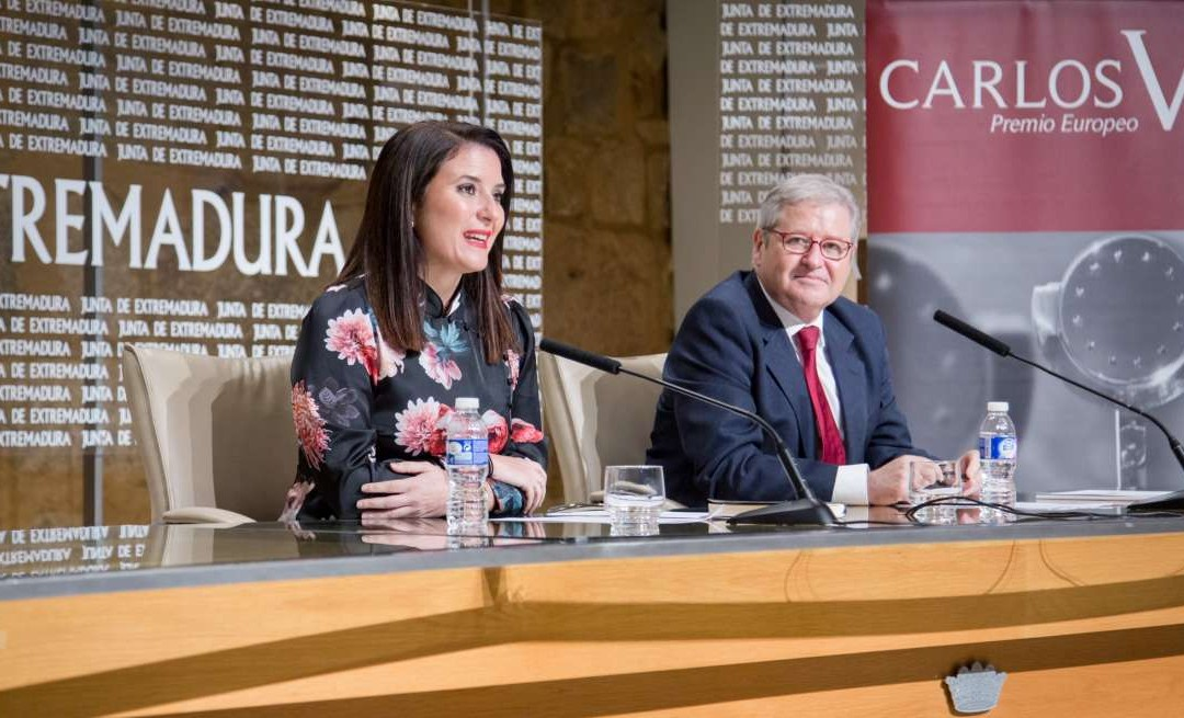 "The 12th Edition of the ""Carlos V European Award"", which Acknowledges the Effort and Commitment in the Construction of Europe, Has Been Presented"