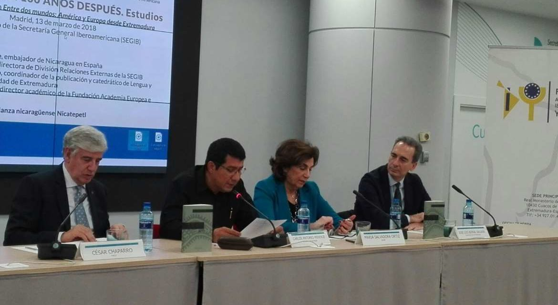 Presentación del libro 'Rubén Darío. 100 años después. Estudios'