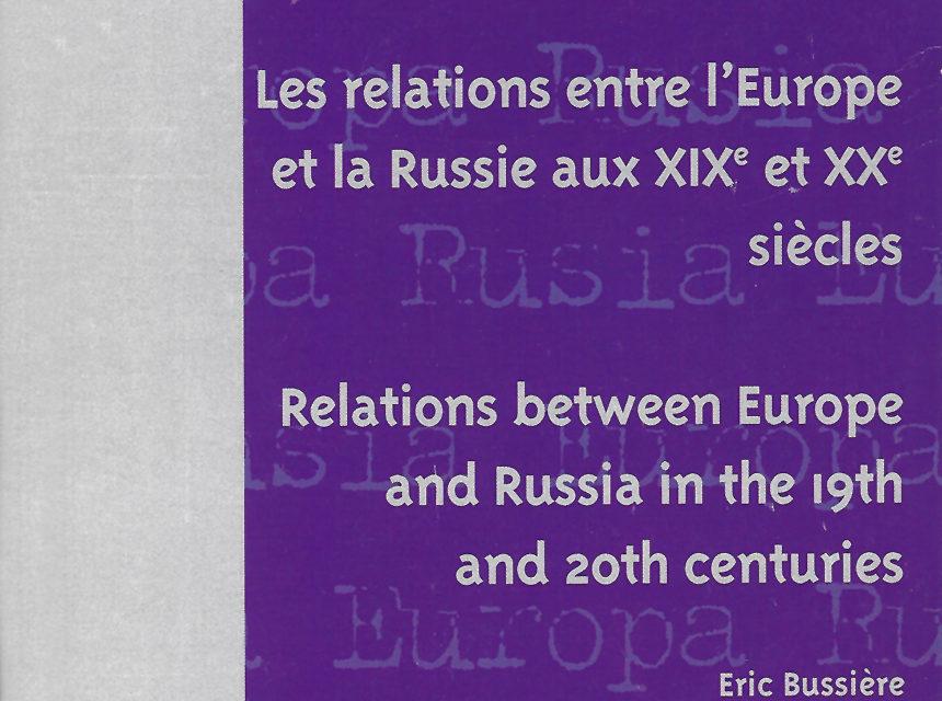 Relaciones entre Europa y Rusia en los siglos XIX y XX