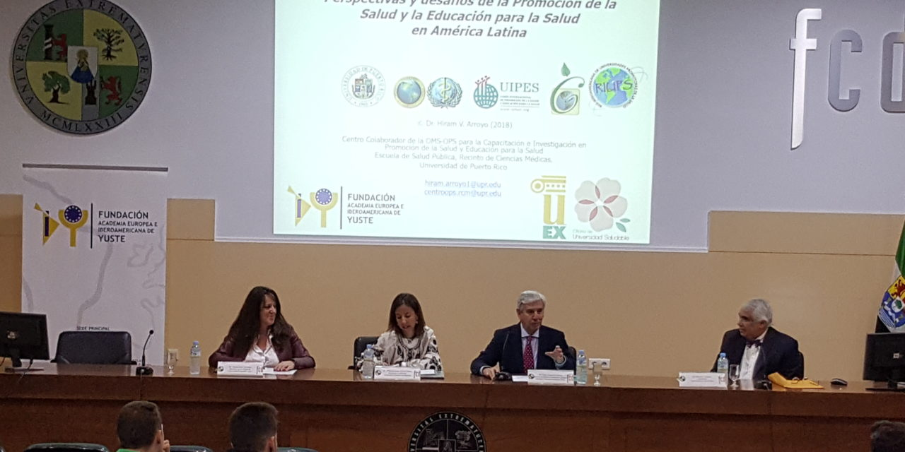 Yuste Foundation Schedules a Conference on Health Promotion and Health Education in Latin America