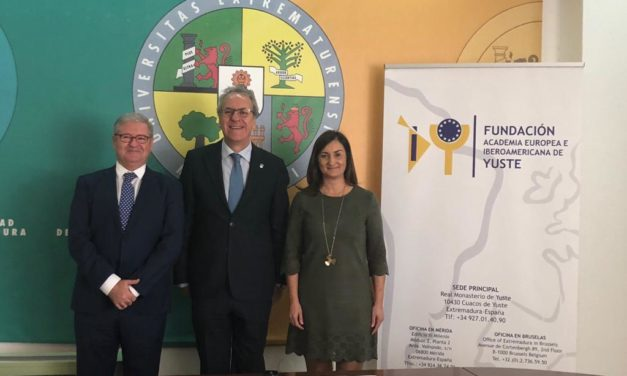 La Fundación Yuste, la Fundación Muñoz-Torrero y la UEx firman un acuerdo de colaboración para la puesta en valor de la figura de Muñoz-Torrero y los valores constitucionales
