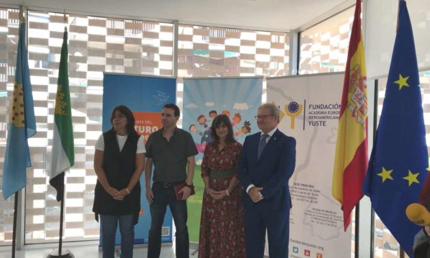 La Fundación Yuste presenta una exposición realizada por alumnos de Navalmoral dentro de su proyecto La Unión Europea: una historia de valores y derechos humanos'