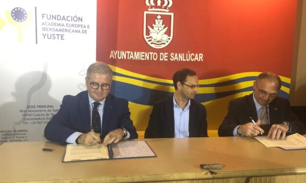 SIGNING OF AN AGREEMENT BETWEEN THE EUROPEAN AND IBERO-AMERICAN ACADEMY OF YUSTE FOUNDATION AND PUERTA DE AMÉRICA FOUNDATION