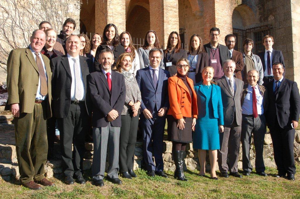 """Nogales asegura que el seminario doctoral de la Fundación Academia Europea de Yuste demuestra que el Atlántico es un océano para """"favorecer intercambios"""""""