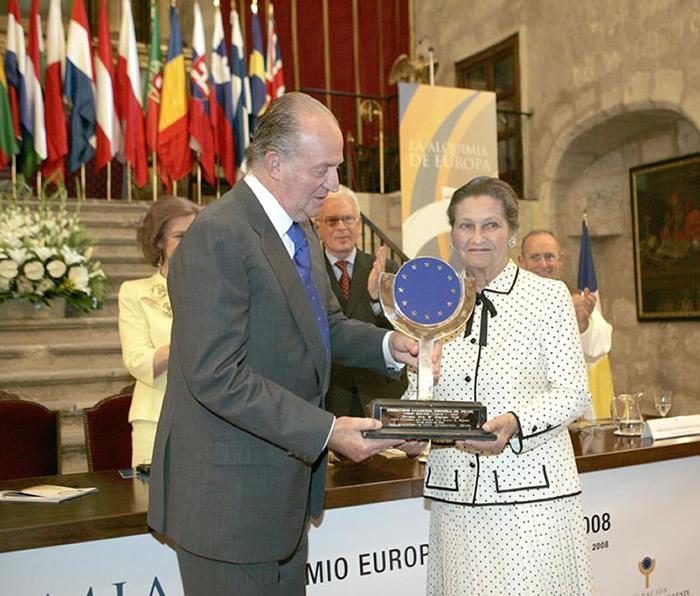 Fallece Simone Veil, Premio Europeo Carlos V