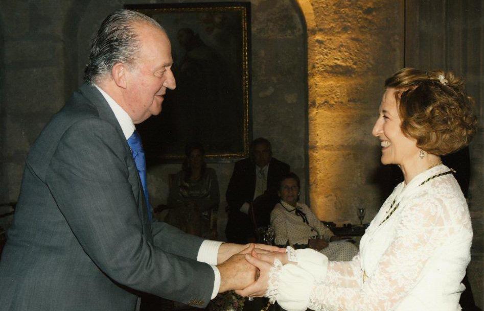 Carmen Iglesias, miembro de la Academia Europea de Yuste nueva directora de la Real Academia de la Historia.
