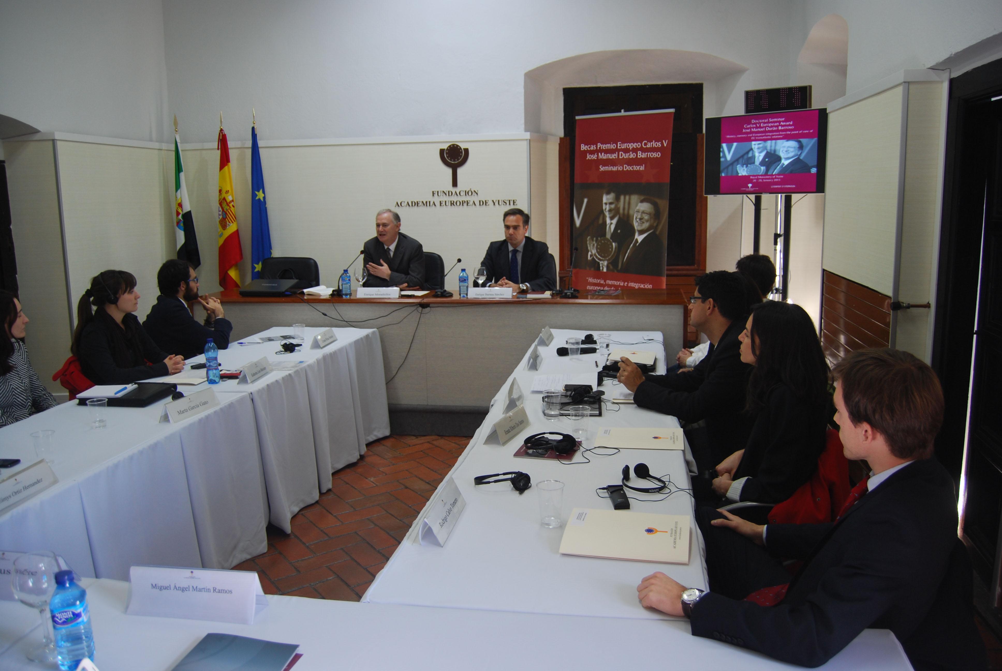 Barrasa afirma que las ideas, la decisión y el liderazgo son las claves para seguir avanzando hacia una Unión Europea cohesionada y solidaria