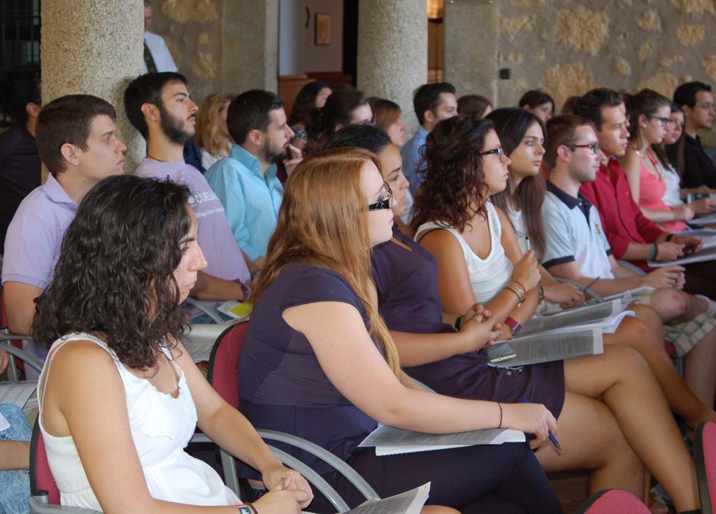 Los cursos de verano Campus Yuste 2015 se clausuran con gran éxito de participación de alumnos y profesores