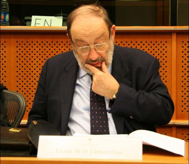 Fallece Umberto Eco, miembro de la Academia Europea de Yuste