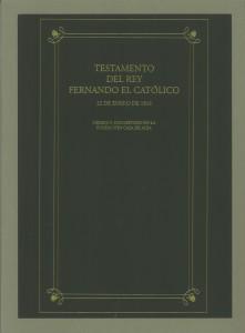 Testamento de Fernando el Católico