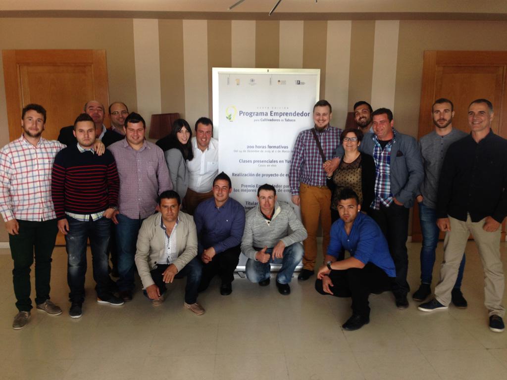 La UEx y Philip Morris premian el espíritu emprendedor de los cultivadores de tabaco extremeños