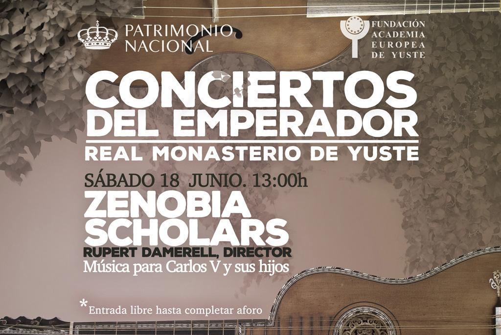 La Fundación Academia Europea de Yuste y Patrimonio Nacional organizan  un concierto dedicado a Carlos V y sus hijos