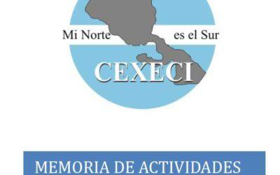 Memoria de actividades 2016 (CEXECI)