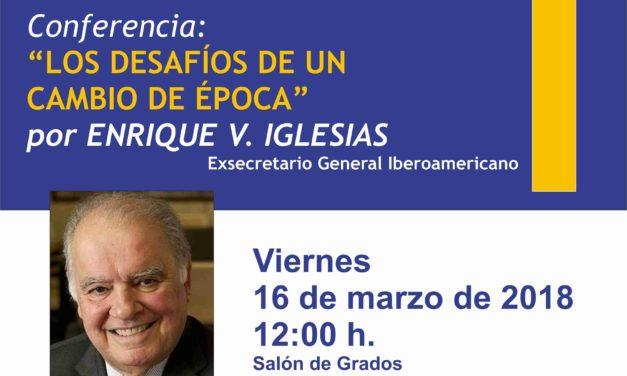 Enrique V. Iglesias, exsecretario General Iberoamericano