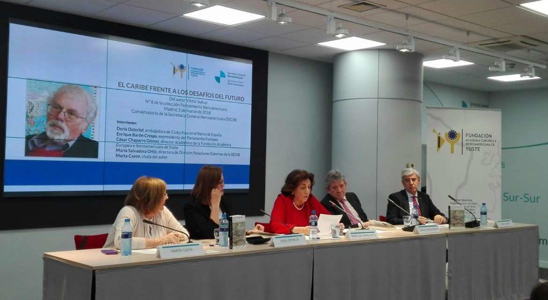 Fundación Yuste presenta en Madrid un libro en el que se analiza la realidad y los desafíos del Caribe