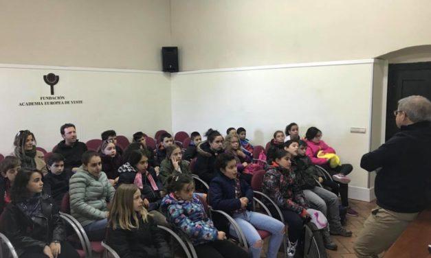 Visita de los colegios Almanzor y Sierra de Gredos de Navalmoral de la Mata