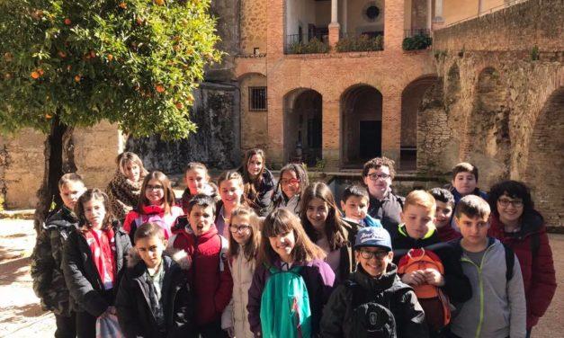 Visita del colegio Campo Arañuelo de Navalmoral de la Mata