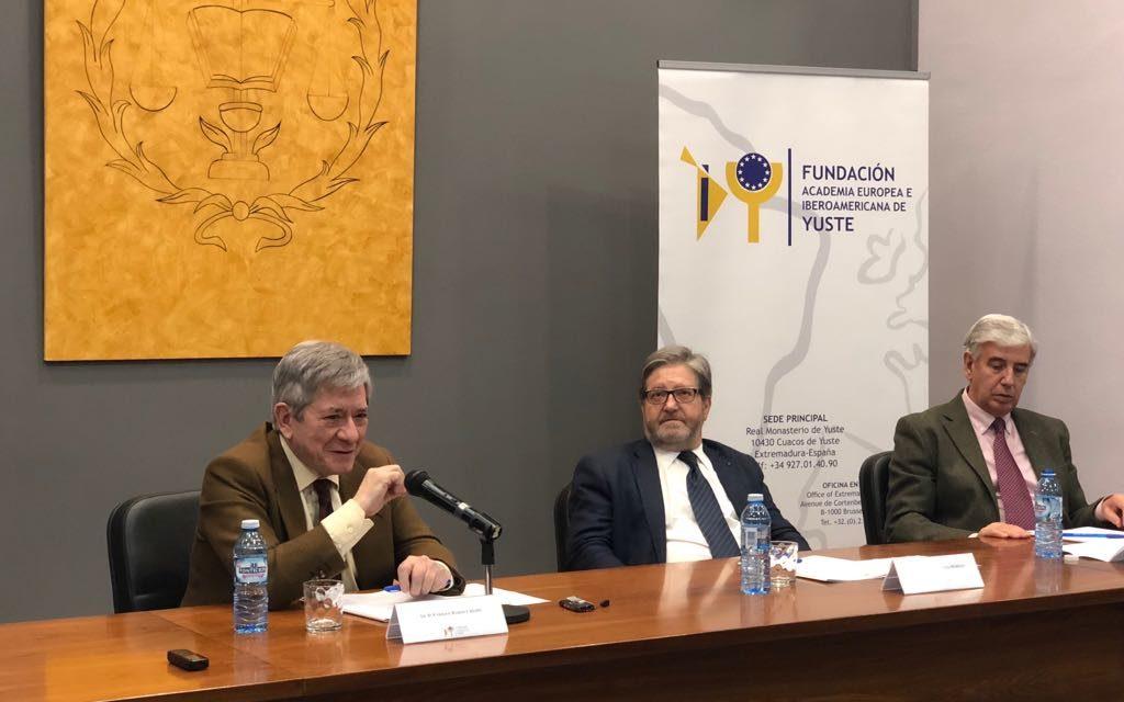 Enrique Barón, expresidente del Parlamento Europeo, analizará la situación y las perspectivas de la Unión Europea en una conferencia de Aula EuroIberoamérica