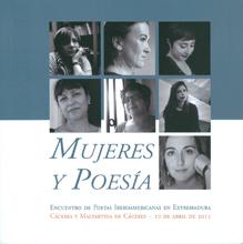 Mujeres y poesía.  Encuentro de poetas iberoamericanas en Extremadura