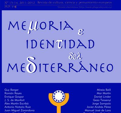 Memoria e identidad del mediterráneo