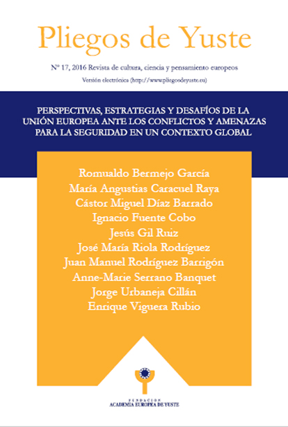 Perspectivas, estrategias y desafíos de la Unión Europea ante los conflictos y amenazas para la seguridad en un contexto global