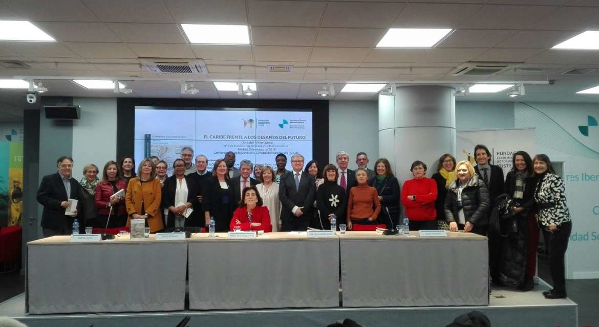 The Yuste Foundation presents a book that analyses reality and the challenges of the Caribbean in Madrid