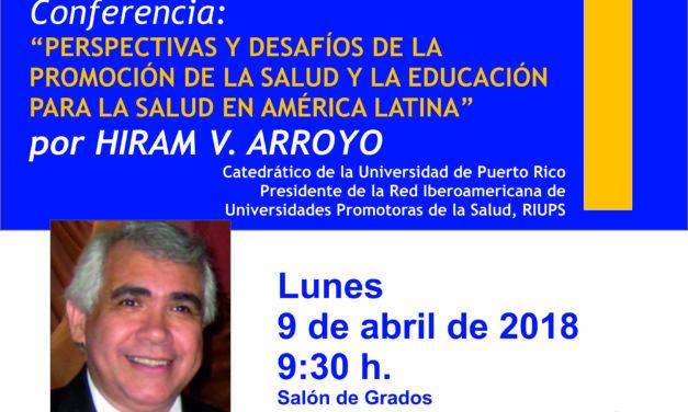 Hiram V. Arroyo. Catedrático de la Universidad de Puerto Rico