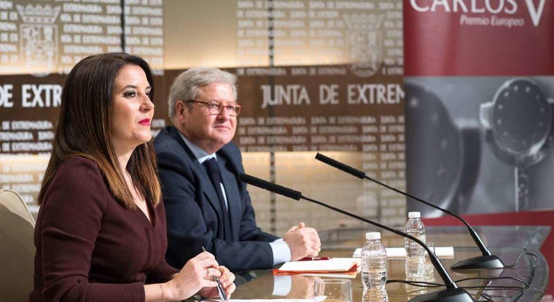 Rueda de prensa anuncio Premio Europeo Carlos V 2018