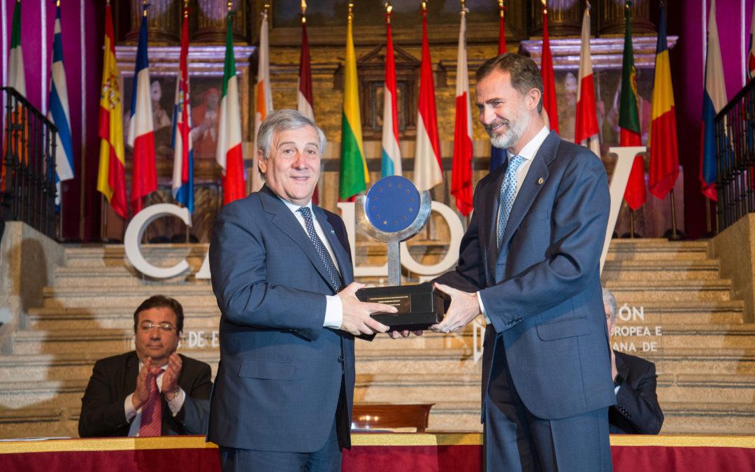 La Fundación Yuste recibe 55 solicitudes para optar a las Becas de Investigación Premio Europeo Carlos V-Antonio Tajani