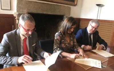 La Fundación Yuste firma un acuerdo con la Universidad de Salamanca y la Fundación Muñoz Torrero para colaborar en ámbitos académicos y culturales