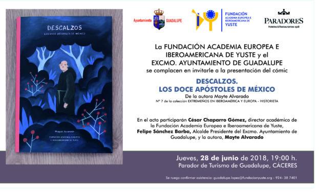 PRESENTACIÓN DEL LIBRO «DESCALZOS. LOS DOCE APÓSTOLES DE MÉXICO»