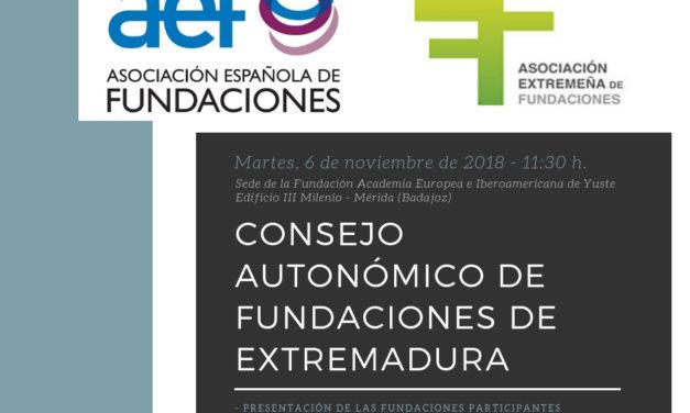 Consejo Autonómico de Fundaciones de Extremadura
