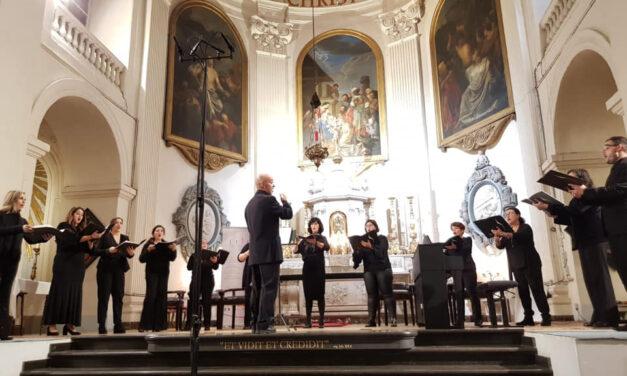 Concierto del Coro Amadeus en Bruselas