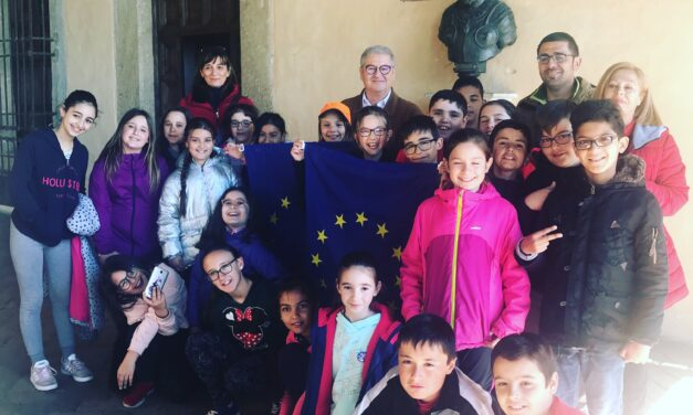 Visita del colegio El Pozón de Navalmoral de la Mata