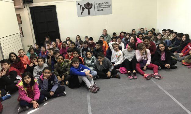 CAMPO ARAÑUELO SCHOOL FROM NAVALMORAL DE LA MATA'S VISIT