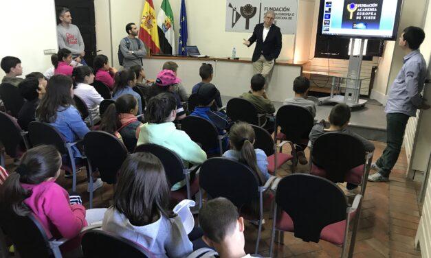 Visita del colegio Juan Güel de Talayuela