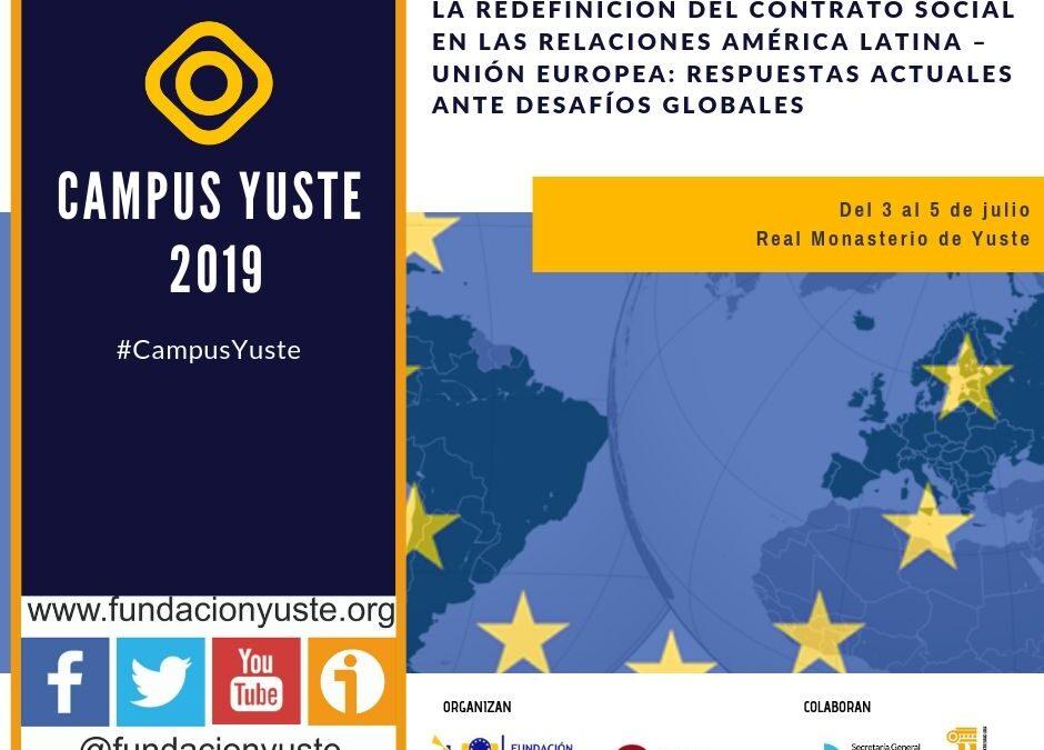 Estudiantes europeos e iberoamericanos asisten a un curso sobre perspectivas y desafíos de la Unión Europea y América Latina