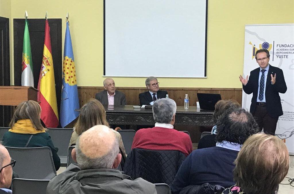 La Fundación Yuste organiza unas charlas para difundir la historia de Europa y los valores que promueve