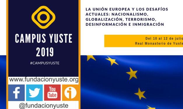 La Unión Europea y los desafíos actuales: nacionalismo, globalización, terrorismo, desinformación e inmigración