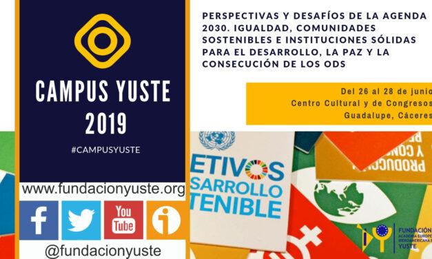 Perspectivas y desafíos de la Agenda 2030. Igualdad, Comunidades Sostenibles e Instituciones Sólidas para el Desarrollo, la Paz y la consecución de los ODS