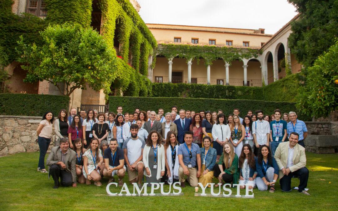 La Fundación Yuste oferta 200 becas para los cursos de Campus Yuste 2019