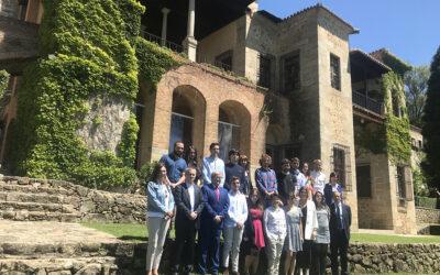 La Fundación Yuste recibe la visita de alumnos de la Escuela Diplomática de Madrid