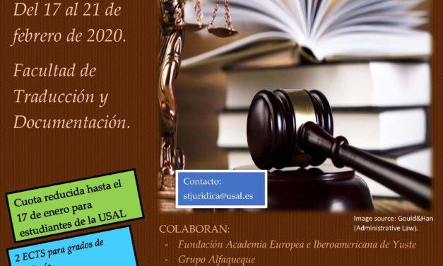 VIII Seminario de Traducción Jurídica e Institucional para Organizaciones Internacionales