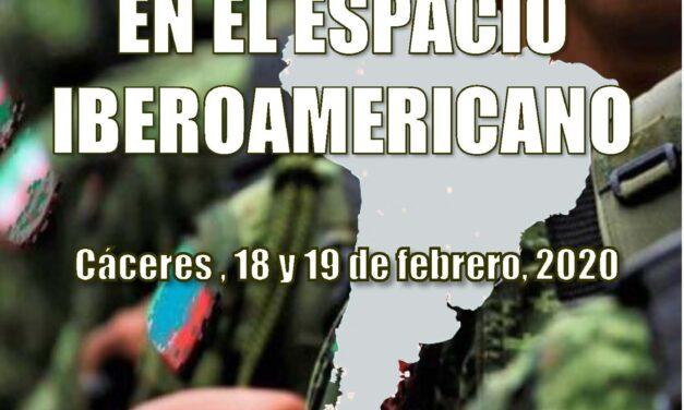 V Jornadas Seguridad y Defensa «Geopolítica en el espacio iberoamericano»